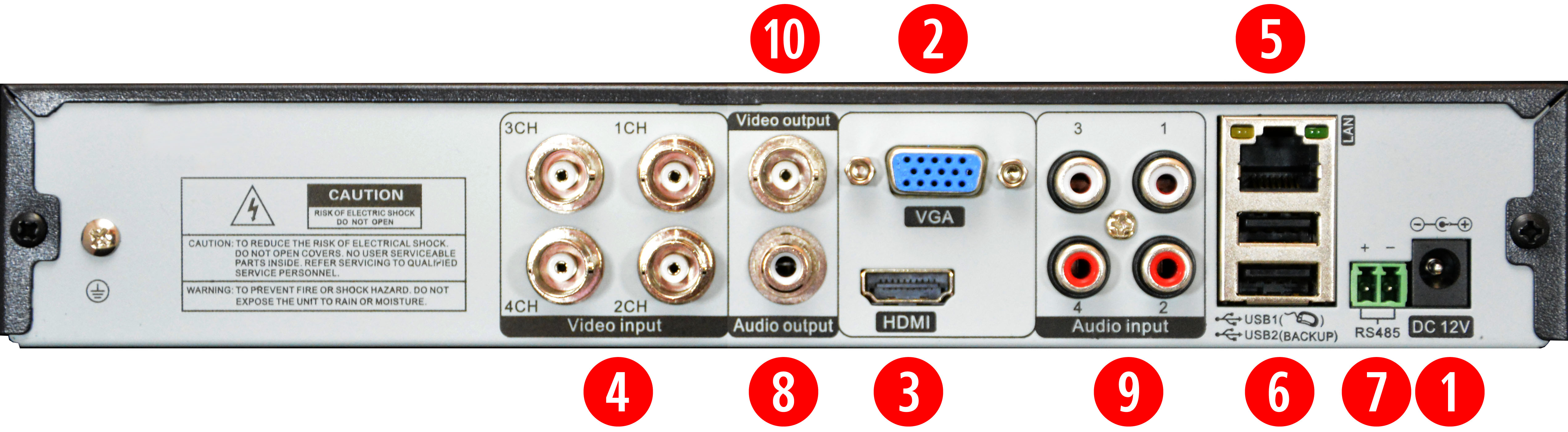 AHD digital video recorder for CCTV cameras, CCTV DVR/NVR AHD with ...