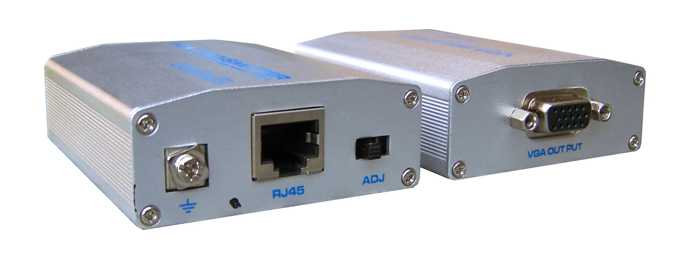 VGA transmitters over UTP, VGA to ethernet converter, vga amplifier ...