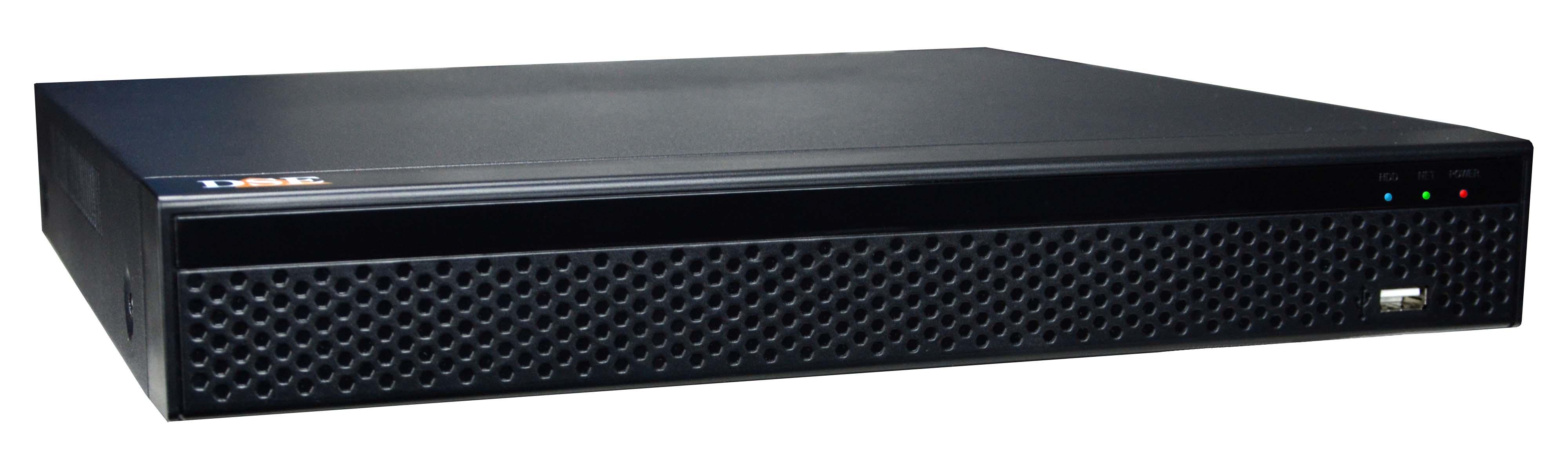 NVR 4K H265 video recorders for ONVIF IP cameras | DSE CCTV