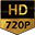 HD 720P 1280x720 pixels resolution